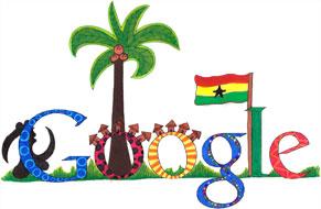 "Google Logo: Doodle4Google ""My Ghana"" 2011 Ghana Winner - ""Nil Carreras Del Peso"""